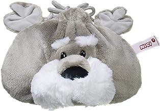 NICI(ニキ)シュナウザー フィギュアフェイスポーチ ドイツ ぬいぐるみ ギフト フェイスポーチ 巾着 シュナウザー イヌ 犬 ペット 3090464