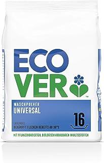 Ecover Detergente en polvo concentrado de lavanda (1,2 kg/16 lavados), detergente con ingredientes a base de plantas, dete...