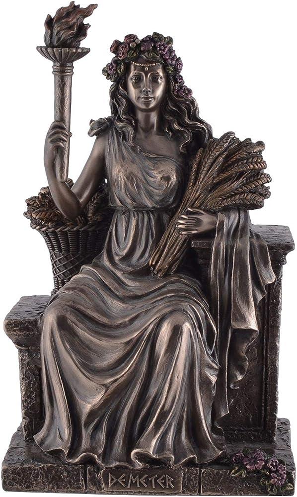 Veronese statua dea greca ceres