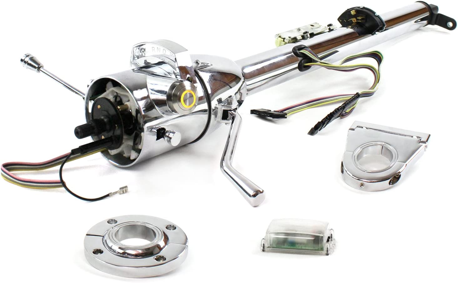Helix 704408 Low price Steering Column Chrome - FLR High material MNT O Shift D