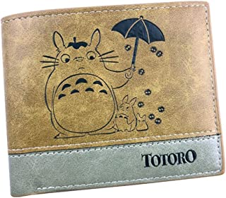 YOYOSHome Japanese Anime Cosplay Short Purse Wallet Clip Billfold