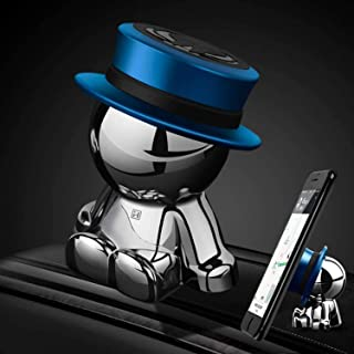 Magnetic Car Phone Holder AUSELECT Dashboard Phone Mount Little Man B Style Blue Hat