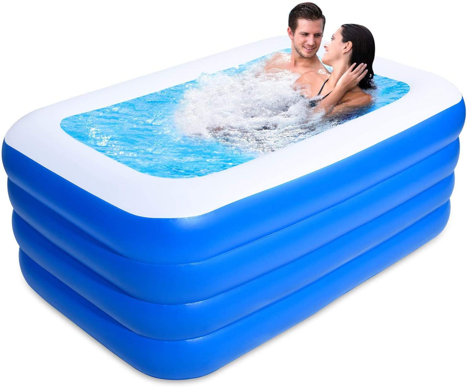 VAHIGCY Soldering Inflatable Swimming Pools K Kiddie for Easy-to-use