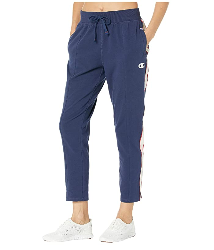 Champion  Heritage Pants with Taping (Athletic Navy) Womens Casual Pants