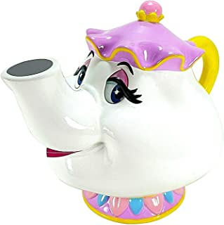 Ceramic Coin Piggy Bank Beauty and The Beast Mrs. Potts