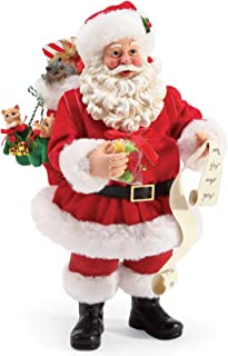 Department 56 Possible Dreams Santa and His Pets Mittens and Kittens Personalizable Figurine, 10.5 Inch, Multicolor