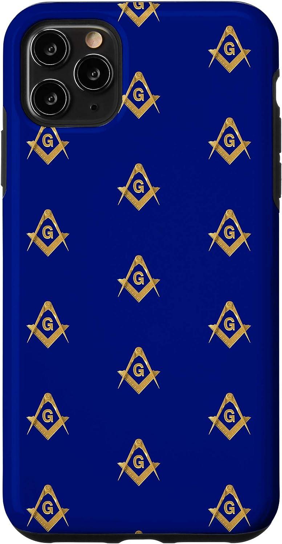 Amazon.com: iPhone 11 Pro Max Masonic Mobile Case Freemason Square ...