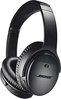 Bose QuietComfort 35 II Noise Cancelling Bluetooth Headphones— Wireless, Over Ear Headphones with Built in Microphone and ...