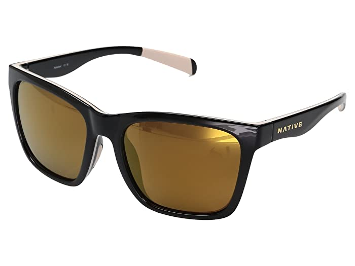 Native Eyewear Braiden (Gloss Black/Pale Pink/Gloss Black) Sport Sunglasses