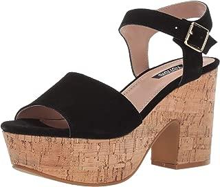 Kensie Womens Brianna Bora Crisscross Flat Slip On Sandal
