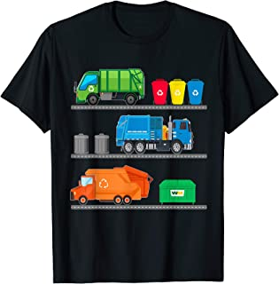 Funny Garbage Truck Driver Junk Bin Dumpster Lorry Toy Gift T-Shirt