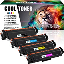 $80 » Cool Toner Compatible Toner Cartridge Replacement for HP 410X CF410X CF411X CF412X CF413X 410A CF410A M477FDW for HP Laserjet Pro MFP M477fdw M477fnw M477fdn Pro M452dn M452dw M452nw Toner Ink Printer