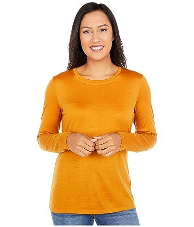 Pendleton Long Sleeve Merino Tee (Inca Gold) Women