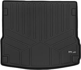 SMARTLINER All Weather Custom Fit Cargo Trunk Liner Floor Mat Black for 2014-2018 Porsche Macan
