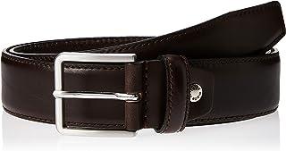 Sponsored Ad – OCTAVE Men's Plain Stitching Casual Genuine Leather Belt, Dark Brown