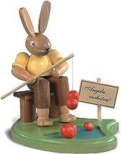 أرنب عيد الفصح، ذكر، صياد على البركة، وارتفاع 8 سم / 3 بوصة، اللون، ملونة ازرجبرجي الأصلي عن طريق مولر سيفين