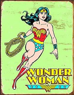 Best wonder woman retro tin sign Reviews