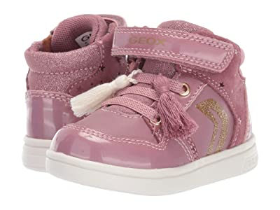 Geox Kids Djrock 31 (Toddler) (Dark Pink) Girls Shoes