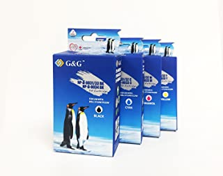G & G互換インクカートリッジ大容量for Dell 31、32、33( 331–7377、331–7378、331–7379、331–7380)ブラック、シアン、イエロー、マゼンタ、4/パック