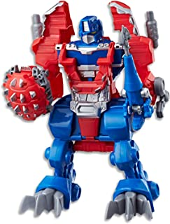 "PLAYSKOOL Heroes - Transformers - Rescue Bots 10"" Optimus Prime Figurine - Kids Toys - Ages 3+"