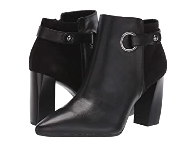 Aerosoles Final Word (Black Leather) Women