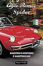 ALFA ROMEO SPIDER: REGISTRO DI RESTAURO E MANUTENZIONE (Edizioni italiane) (Italian Edition)