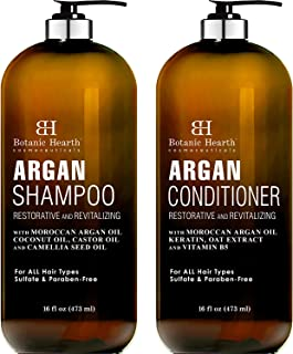 Argon Oil Shampoo And Conditioner Set