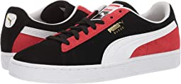 Puma Black/Puma White/High Risk Red