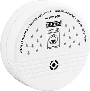 mumbi WM100 Wassermelder – Wasser Melder für gefährdete Bereiche wie Küche, Bad und Keller