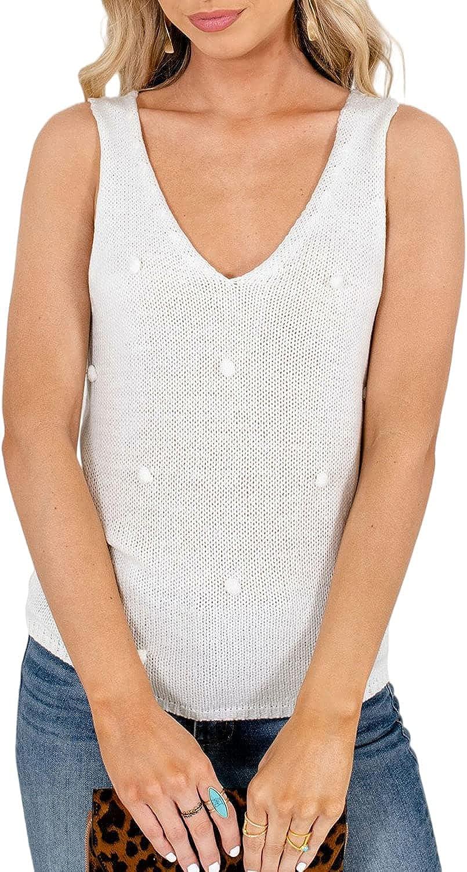 Miessial Women's Crew Neck Lantern Sleeve Sweater Pullover Elegant Knit Jumper Top