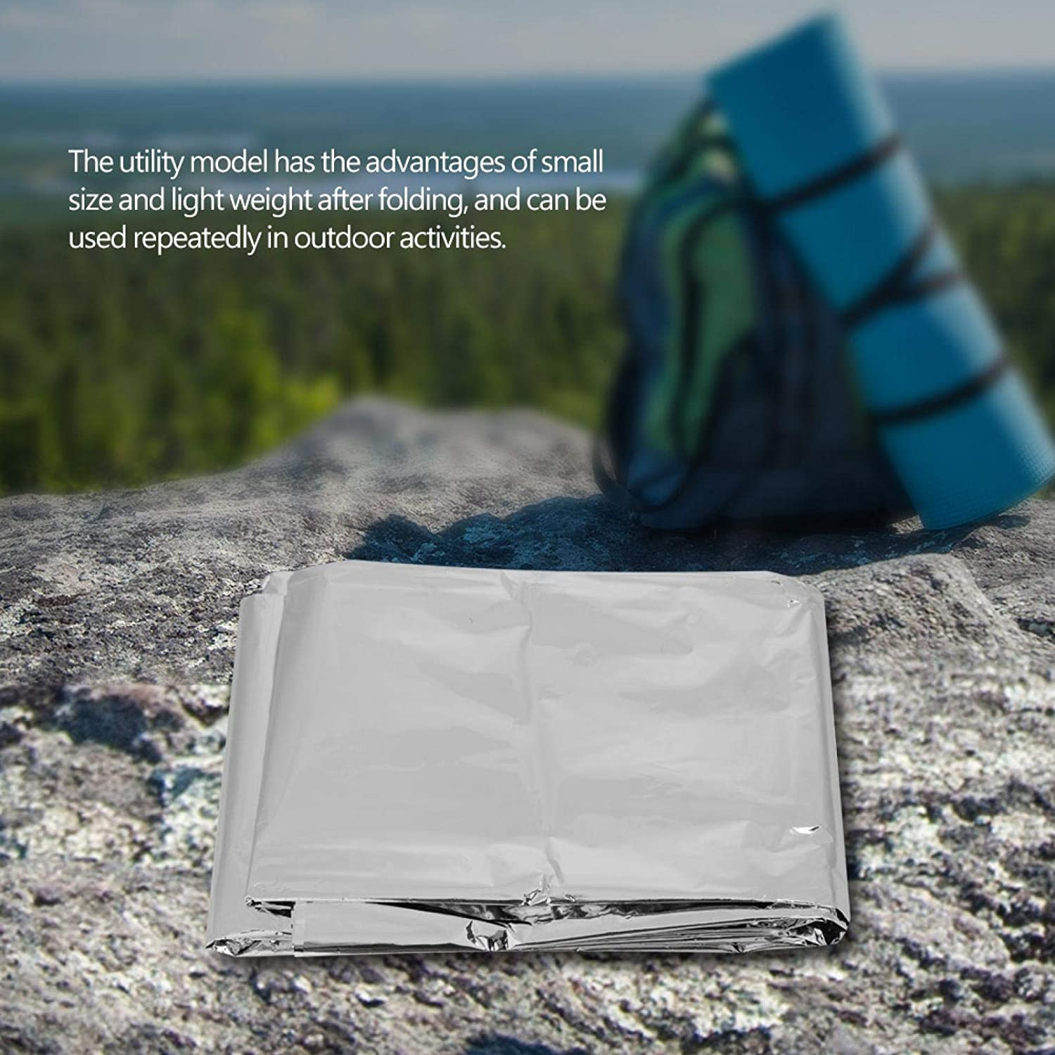 DAUERHAFT Emergency lowest price Tent Shelter Bl Foldable At the price