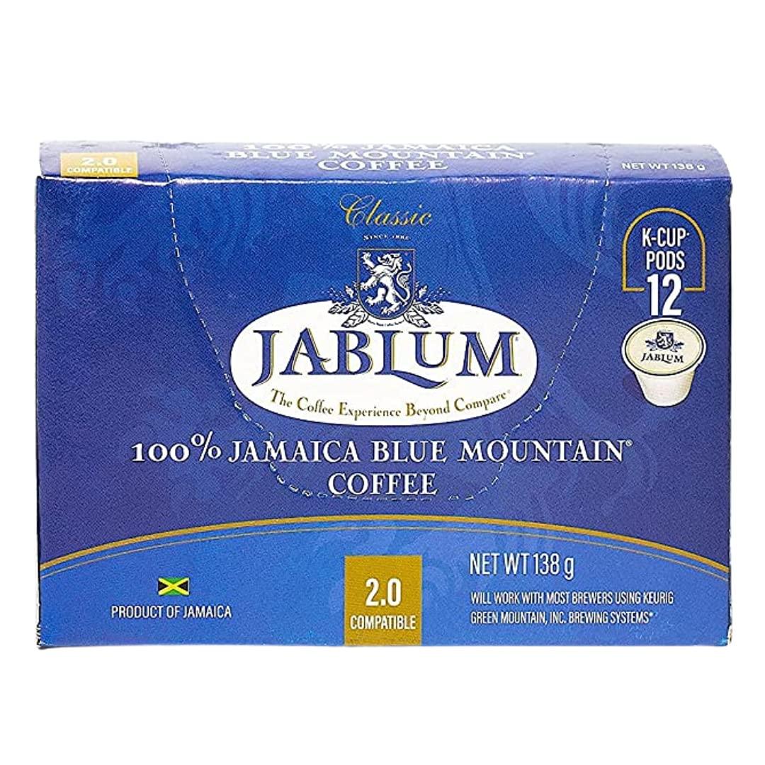 Jablum Jamaica Blue Mountain Single Serve Cup 在庫一掃 高品質 Coffee K Pods for