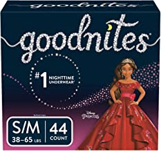 Goodnites Bedwetting Underwear for Girls, Small/Medium (38-65 lb.), 44 Ct (Packaging May Vary)