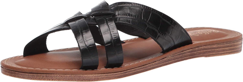 Bella Vita Made in Italy Women's Slide Sandal Flat