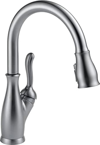 Delta Faucet Leland Pull Down Kitchen Faucet with Pull Down Sprayer, Kitchen Sink Faucet, Faucets for Kitchen Sinks, ...