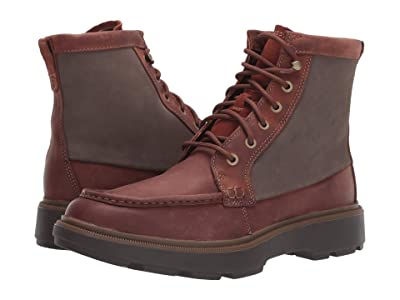 Clarks Dempsey Peak (Mahogany Leather) Men