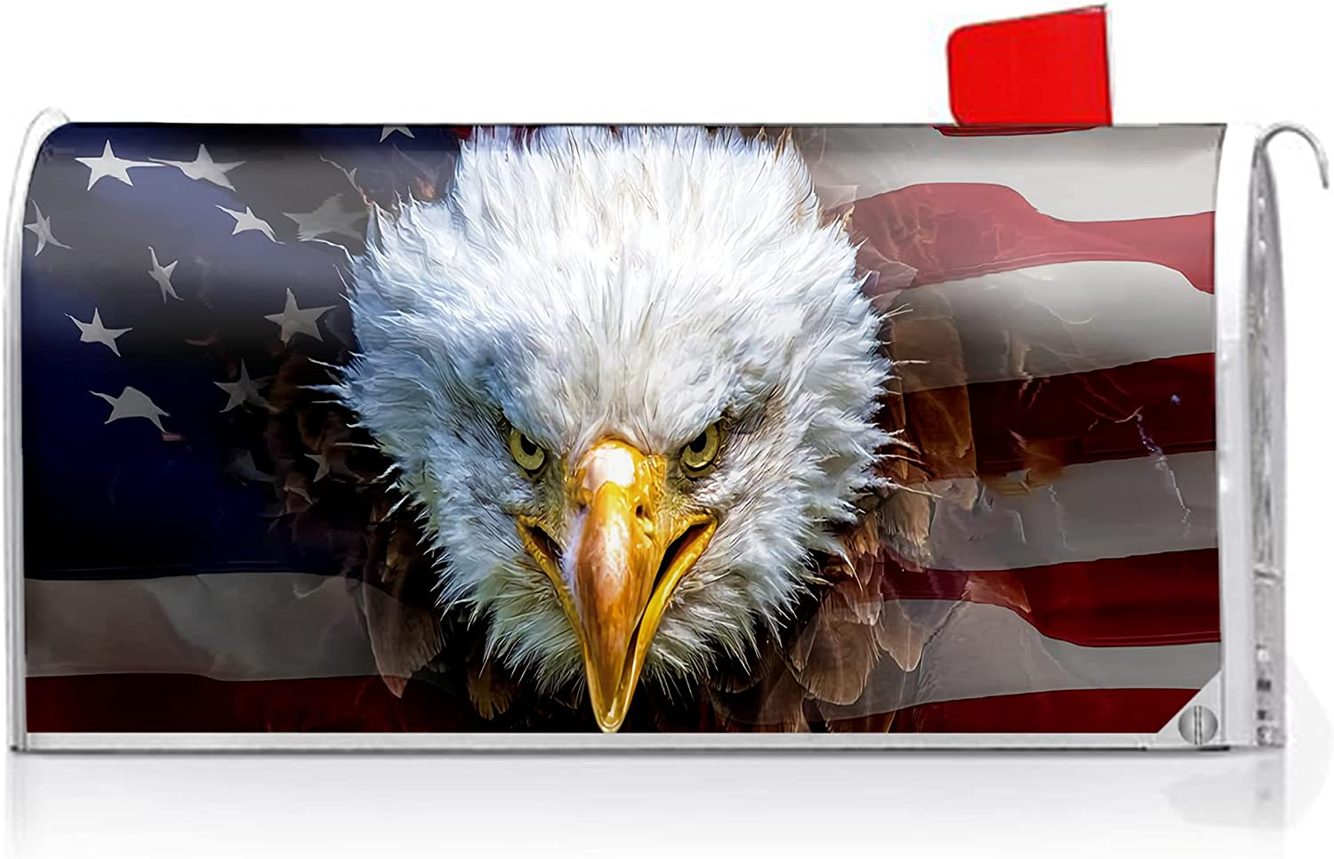 Oasisdream American Flag Eagle Mailbox Box Ranking TOP3 Post Great interest Letter Covers Co