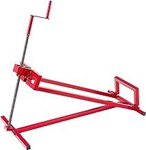 AREBOS Zitmaaierkrik Zitmaaier Kriksysteem Krik Hijstoestel Reinigingshulp | 400kg | Rood | tot 45° Verstelbaar