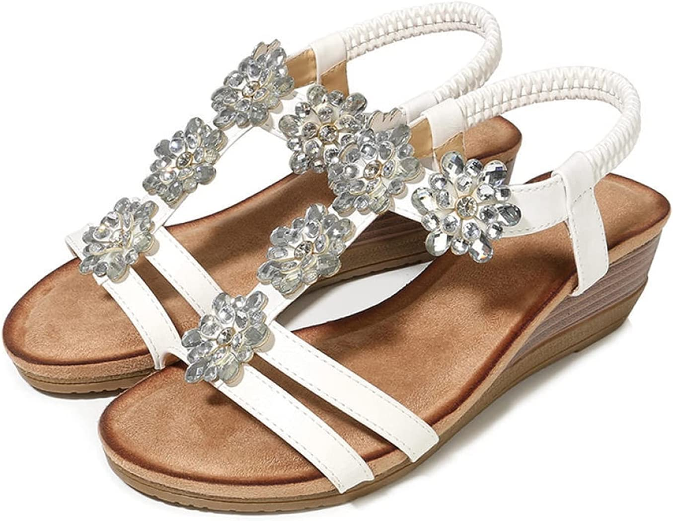 All stores Max 51% OFF are sold LyHomeAn Fashion Ladies Sandals Bohemian He Wedge