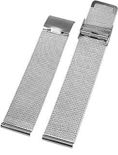 Alienwork 18 mm Bracelet de Montre Bracelet Maille