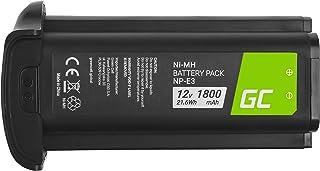 Green Cell NP-E3 NPE3 Batería para Canon EOS-1D Mark II EOS-1Ds Mark II EOS-1Ds EOS-1D EOS-1D Mark II N Cámara Full Decoded (Ni-MH Celdas 1800mAh 12V)