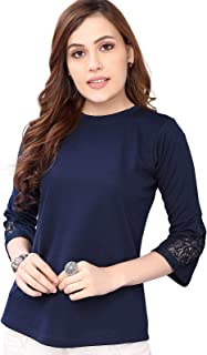 SIRIL Women's Lycra Regular Fit Top