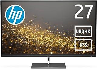 HP 4K対応 27インチ ディスプレイ/3840×2160/60Hz/16:9/ナローベゼル/半光沢/IPS/HDMI・DisplayPort/ENVY 27s/Y6K73AA-AAAP