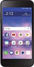 Simple Mobile LG Rebel 4 4G LTE Prepaid Smartphone (Locked) - Black - 16GB - Sim Card Included - GSM