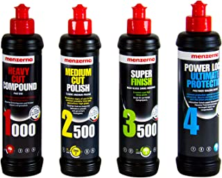 menzerna Heavy Cut 1000 & Medium Cut 2500 & Super Finish 3500 & Seal
