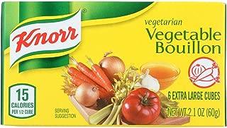 Knorr Vegetarian Vegetable Bouillon, 2.1 Ounce (Pack of 24)