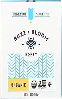 Buzz & Bloom Honey Single Serve Organic, 5 oz