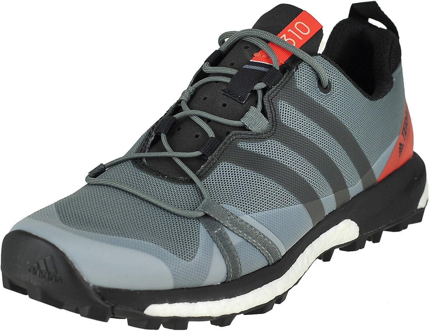 adidas Men's Terrex Agravic Running Shoe (8, Vista Grey S15/Core Black/Energy S17)