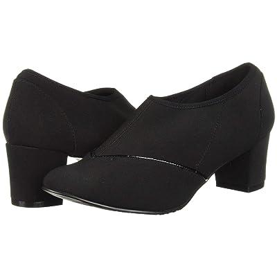 Soft Style Glori (Black Stretch Fabric) Women