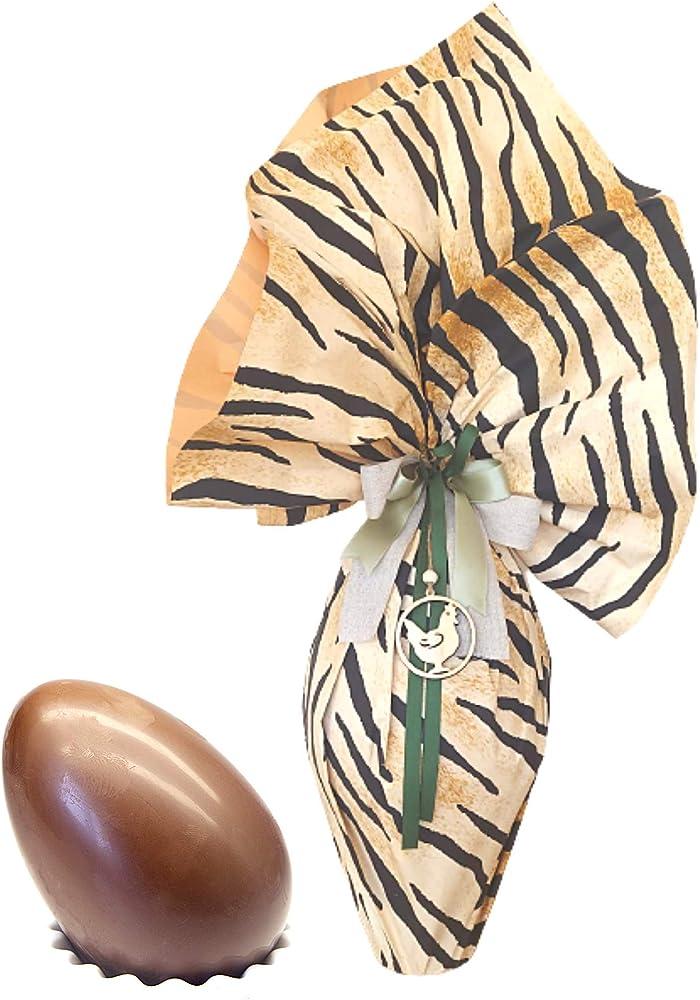 Beppiani,uova di pasqua cioccolato fondente 1 kg,prodotto artigianale di alta qualità con sorpresa